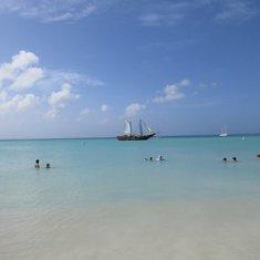 Beach time in Aruba