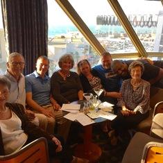 Cadiz sail away and Trivia team