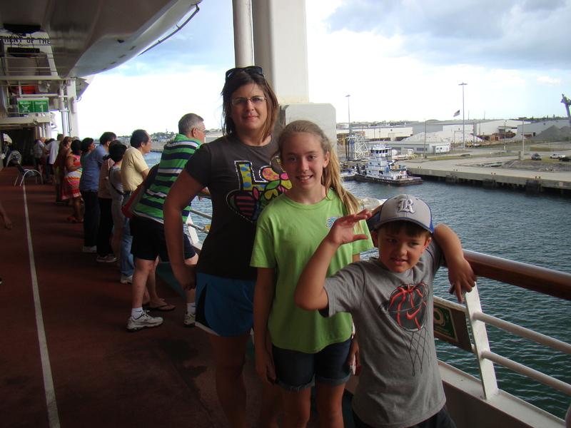 Port Canaveral, Florida - Bon Voyage