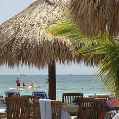 Mr. Sancho's Beach Club in Cozumel