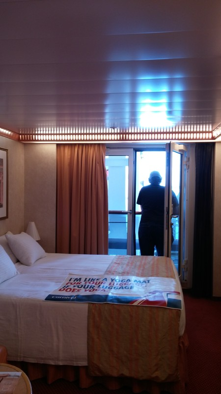 Photo Of Carnival Legend Cruise On Sep 08 2015 French Door Cabin