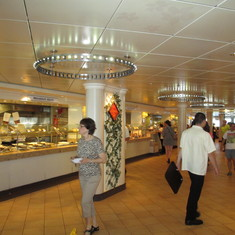 Buffet Area - look at the size
