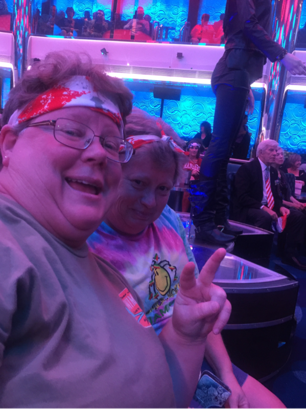 Getting ready to Rock With the 80s - Carnival Vista