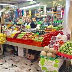 Mazatlan old market