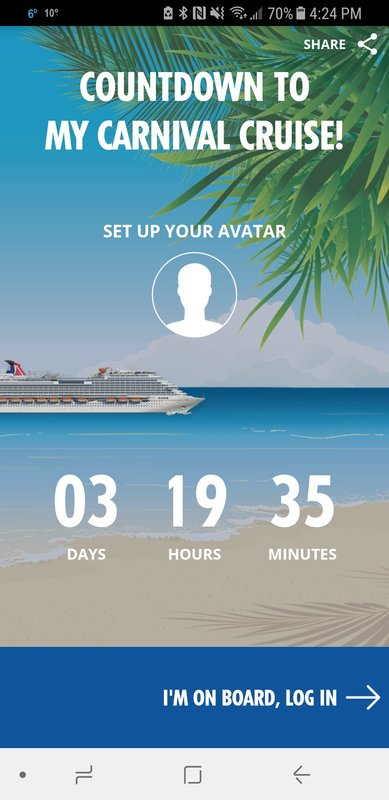 Can't wait - Carnival Vista