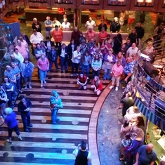 CD show in Atrium