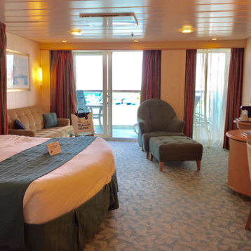 Junior Suite with Balcony on Liberty of the Seas