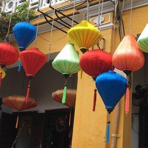 colorful street in Hoi ANN