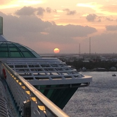 Don't miss the sunrises!!