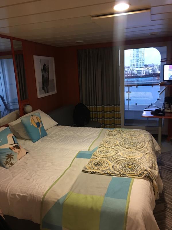 Balcony Cabin 8530 On Norwegian Dawn Category Bd