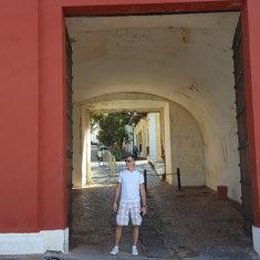 Old Door of San JUan