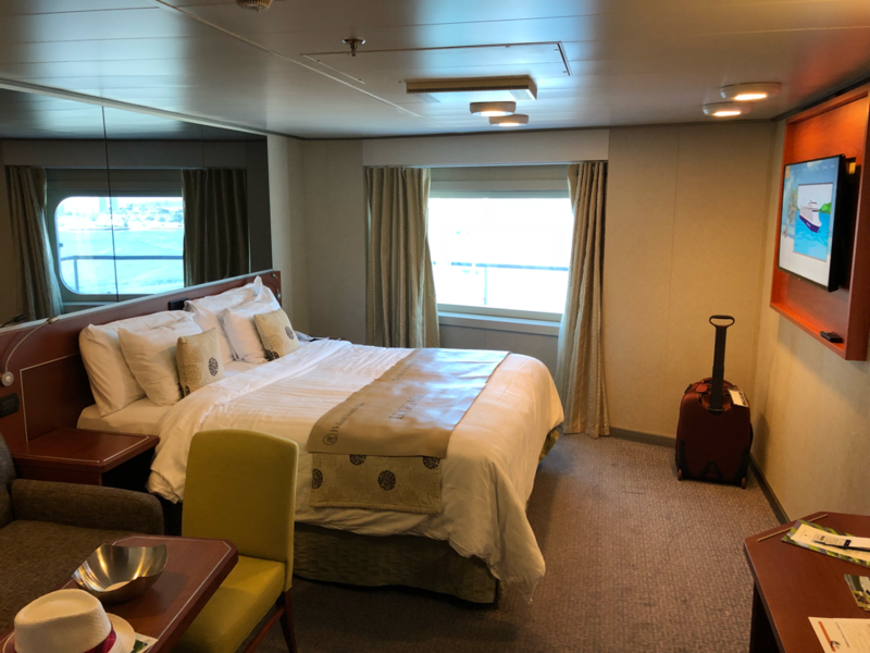 Oceanview Cabin 10003 On Eurodam Category Cq