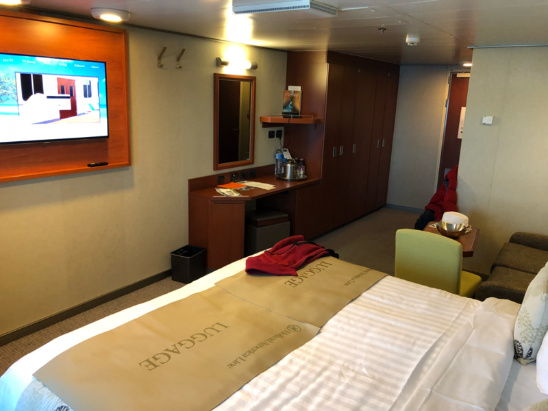 Large Oceanview Spa Stateroom Cabin Category Cq Eurodam