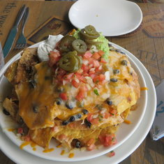 Nachos from Margaritaville