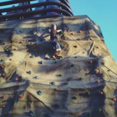 Climbing Wall on Norwegian Getaway