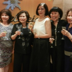 The Vietnamese Naval Officer Vets' Ladies