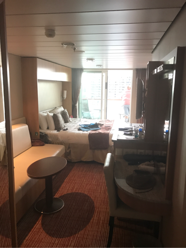 Balcony Cabin 9133 On Celebrity Solstice Category 1b