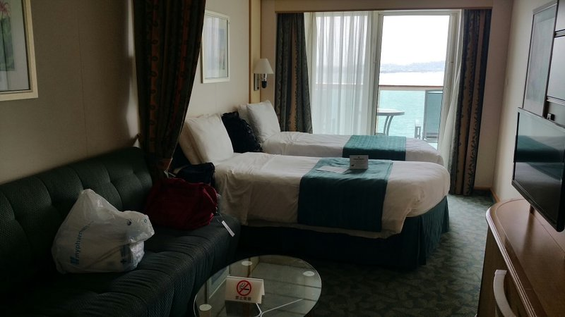 Superior Balcony Stateroom Cabin Category D2 Mariner Of