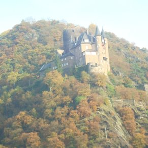 Just another beautiful castle on the Rhine