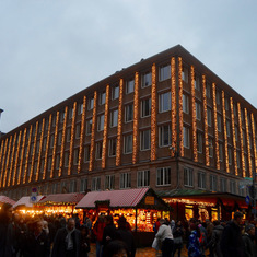 Nuremberg Christmas Market and City Hall