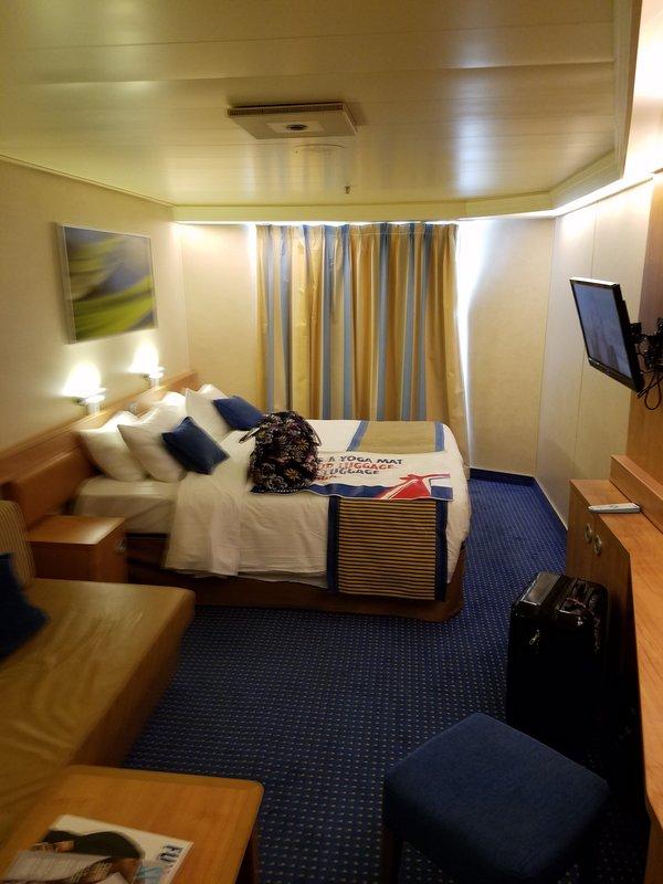 Oceanview Cabin 1559 On Carnival Sunshine Category 6b