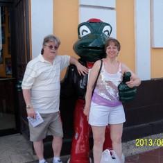Senor Frog's.