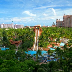 Nassau, Bahamas - Water Park at Atlantis