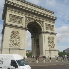 Le Havre (Paris), France - Arc de Triomphe, Paris France