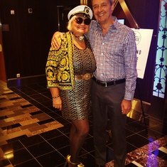 Ft. Lauderdale (Port Everglades), Florida - VALENTINA AVED WITH CEO MICHAEL BAYLEY