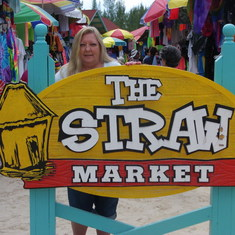 Cococay (Cruiseline's Private Island) - Straw Market shops Bahamas