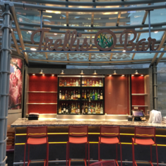 Trellis Bar on Harmony of the Seas