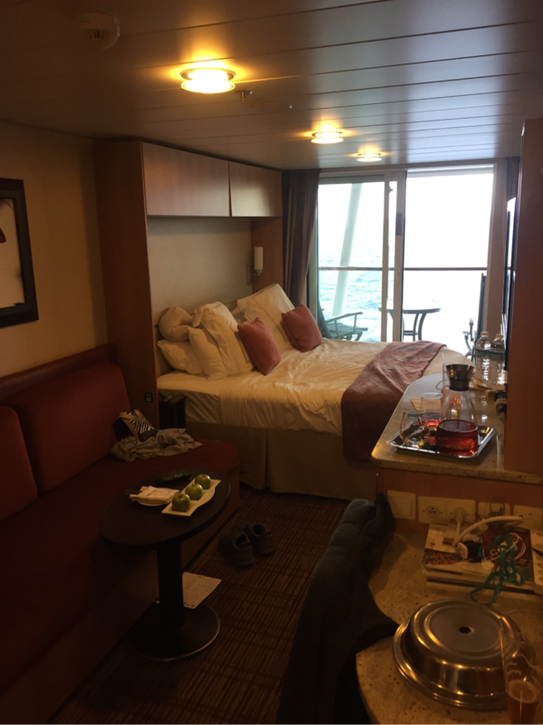 Balcony Cabin 1553 On Celebrity Silhouette Category K1
