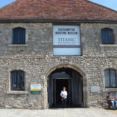 """The Southampton Maritime museum with a 'Titanic display"""""""