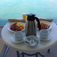 Breakfast on the Balcony - Room Service