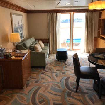 Deluxe Family Oceanview Stateroom with Verandah on Disney Magic