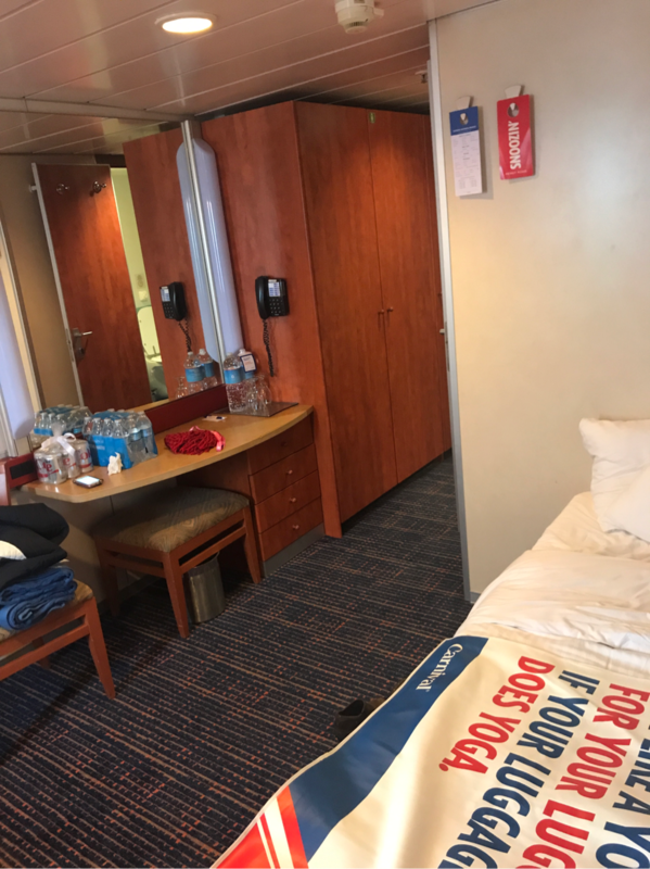 Oceanview Stateroom Cabin Category 6e Carnival Ecstasy