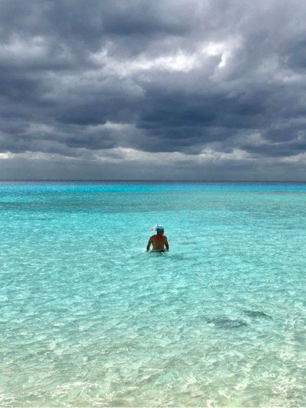 Half Moon Cay, Bahamas (Private Island) - Snorkeling at Half Moon Cay January 2018