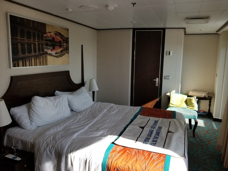 Balcony Cabin 6459 On Carnival Vista Category Hl