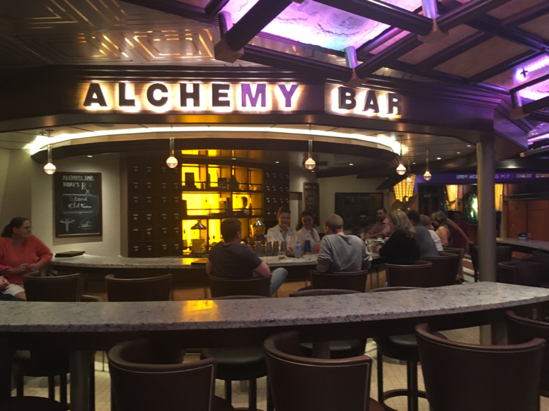 Carnival Valor, Bar, Alchemy Bar