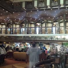 main lobby.. goes up 10 floors
