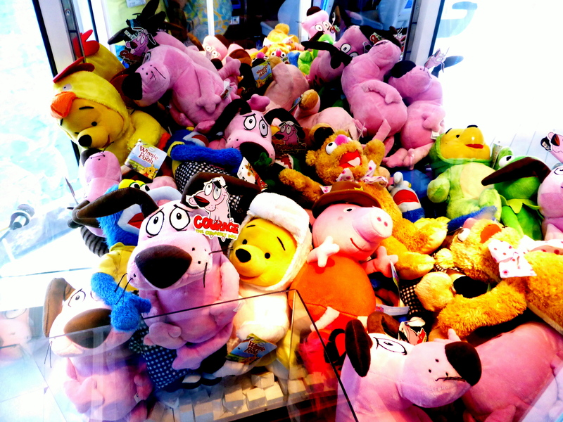 win a stuffed animal if yu can - MSC Divina
