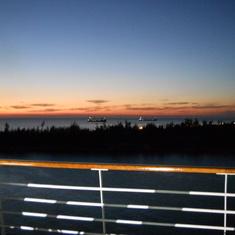 First Sun Set 0f 2012