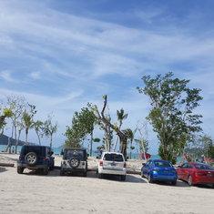 Beach at Megan's Bay