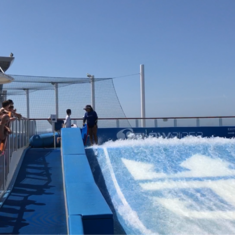 Flowrider on Harmony of the Seas