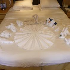 Celebrity Infinity - towel animals
