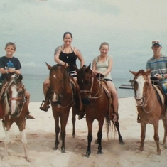 Mr Sanchos Beach + horseback in Cozumel