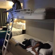 Bunk Bed set-up
