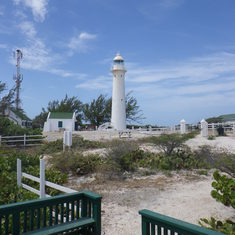 Light house on Grand Turk