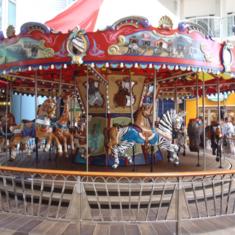 Carousel on Oasis of the Seas