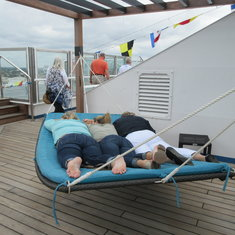 Serenity Deck 3 in a hammock